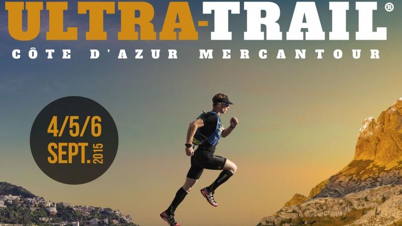 Publicité pour l'Ultra Trail Côte d'Azur