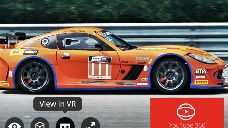 Virtual Reality – 360 – Race Car GT4 – Circuit