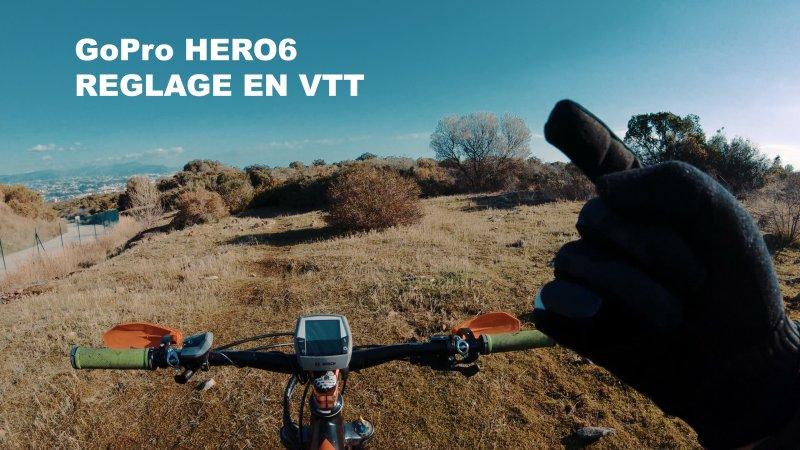 Comment régler sa GoPro en VTT