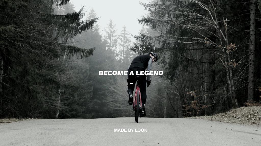 Bernard Hinault - become a legend - look X genepifilm